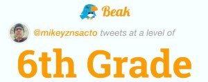 Twitter Grade